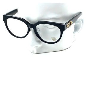 New MCM 2628A 001 Black 53mm Eyeglasses
